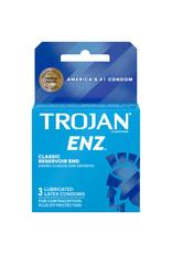 Trojan Trojan ENZ Lubricated 3 pk