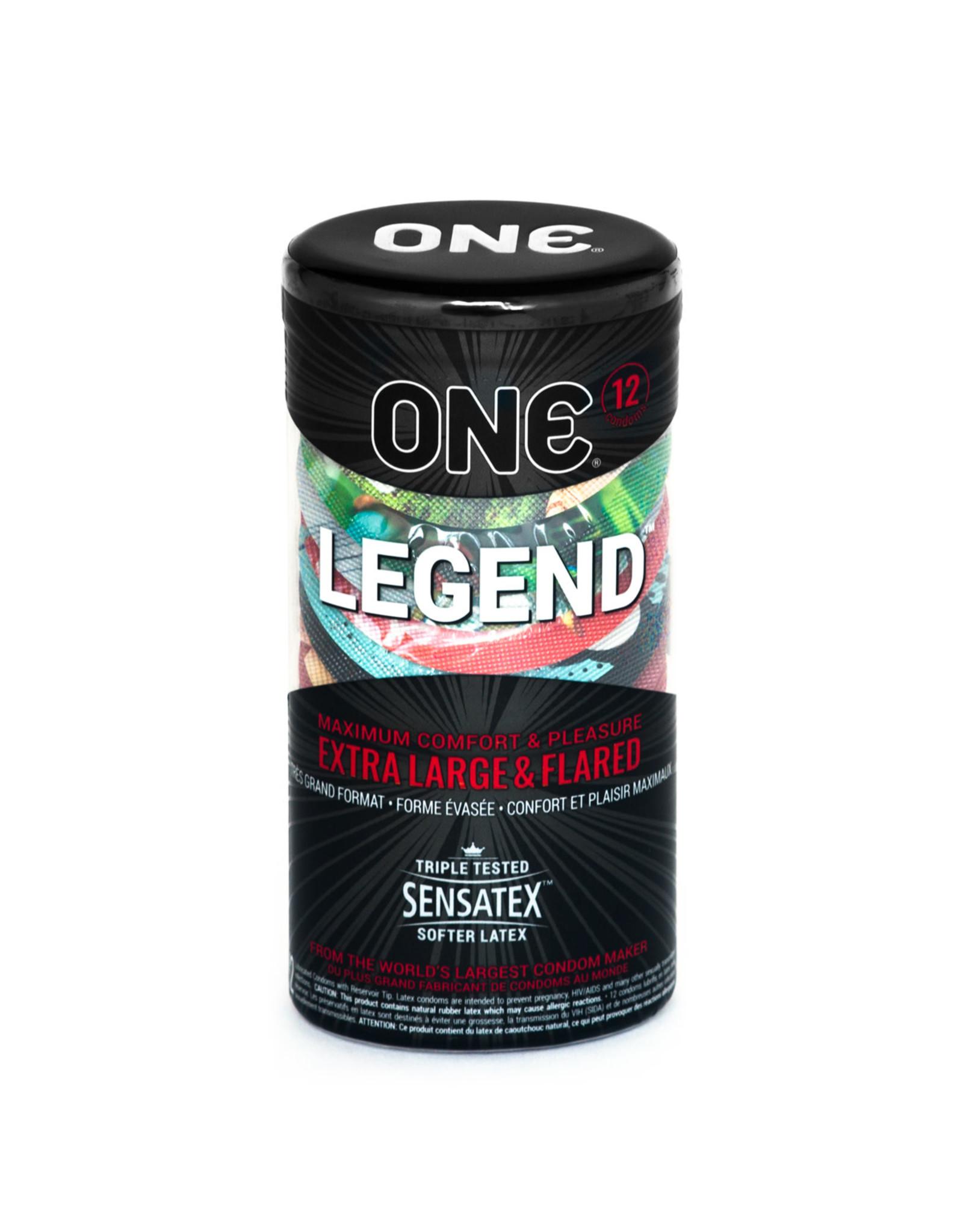 One One The Legend Condoms 12pk