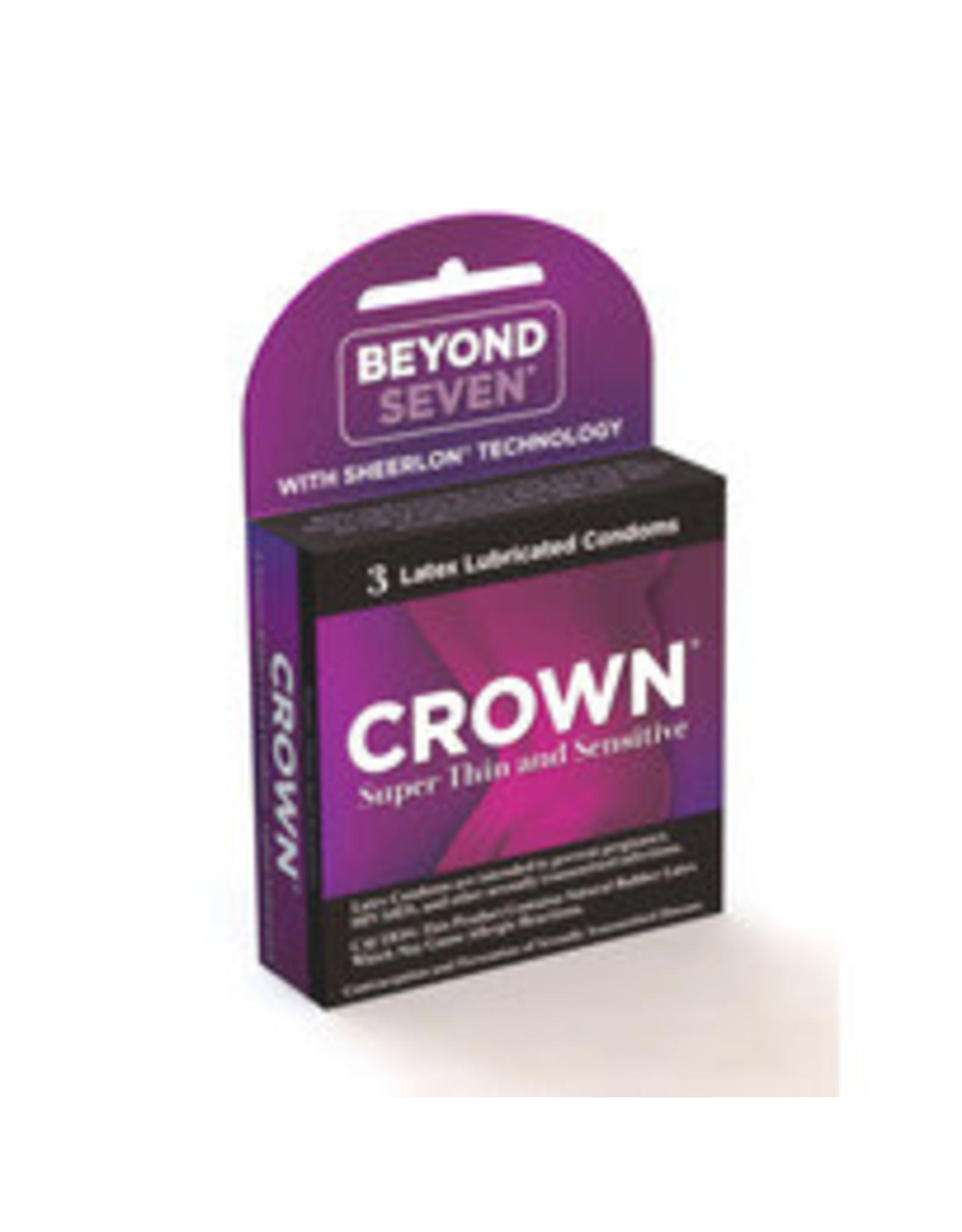Crown Crown Condoms 3 pk