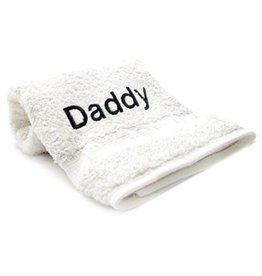 """Towels with Attitude """"Daddy"""""""
