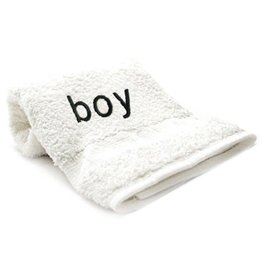 """Towels with Attitude """"boy"""""""
