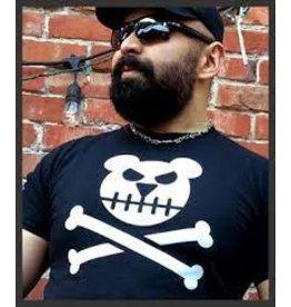 Killer Bob Graphics Killer Bob Graphics Bear Bones 13TH Anniversary Tee