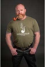 Shane Ruff Studio Burly Shirts A Wise Man / Pipe Tee