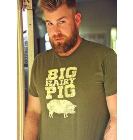 Shane Ruff Studio Burly Shirts Big Hairy Pig Tee