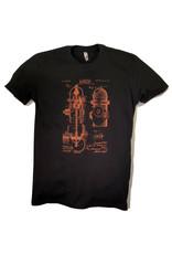 Shane Ruff Studio Burly Shirts Fire Hydrant Patent Art Tee