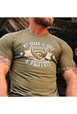 Shane Ruff Studio Burly Shirts My Beard is Here Tee