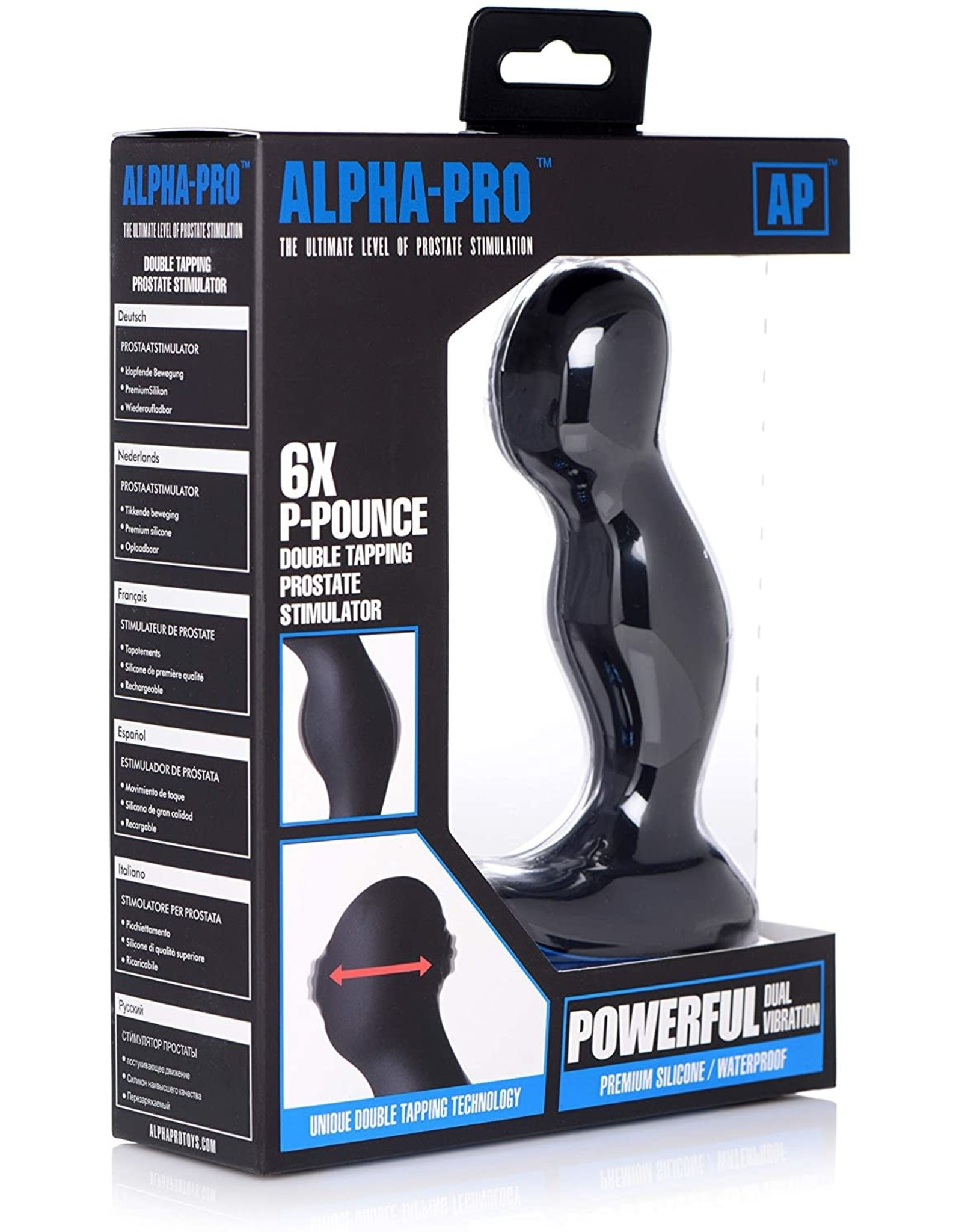 Alpha Designs Alpha-Pro 6X P-Pounce Double Tapping Prostate Stim
