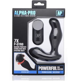 Alpha-Pro Alpha-Pro 7X P-Gyro Silicone P Spot Stimulator