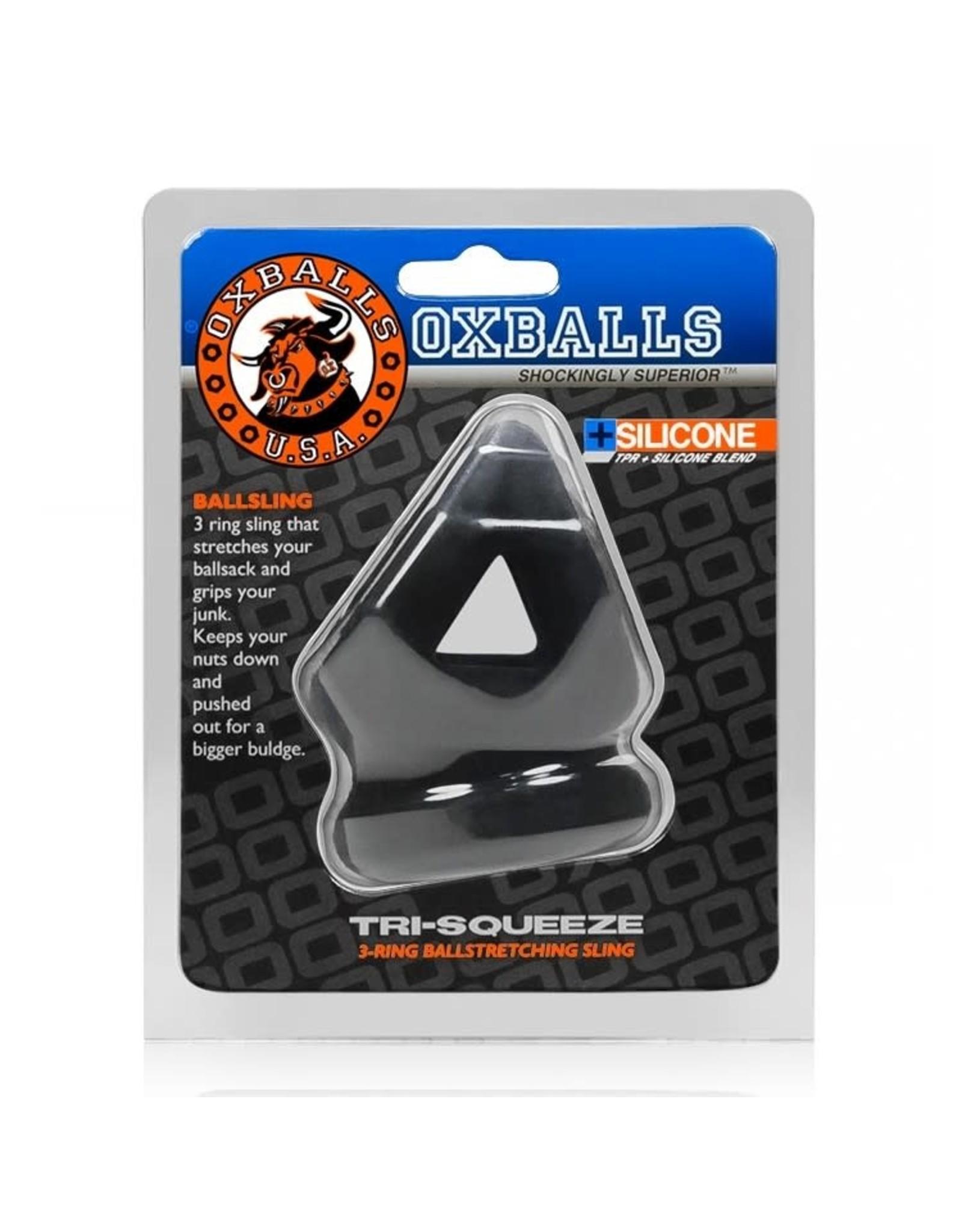 Oxballs OxBalls Tri-Squeeze Cocksling Ball Stretcher