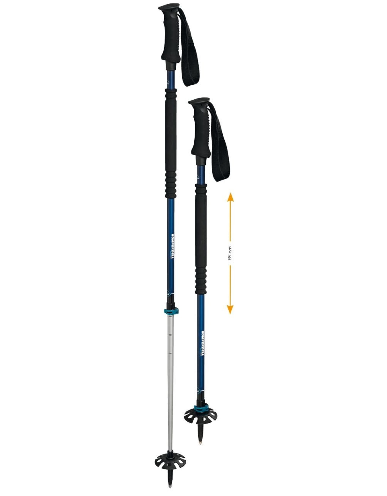 Komperdell Komperdell Thermo Ascent Ti 2 Pole 115-150