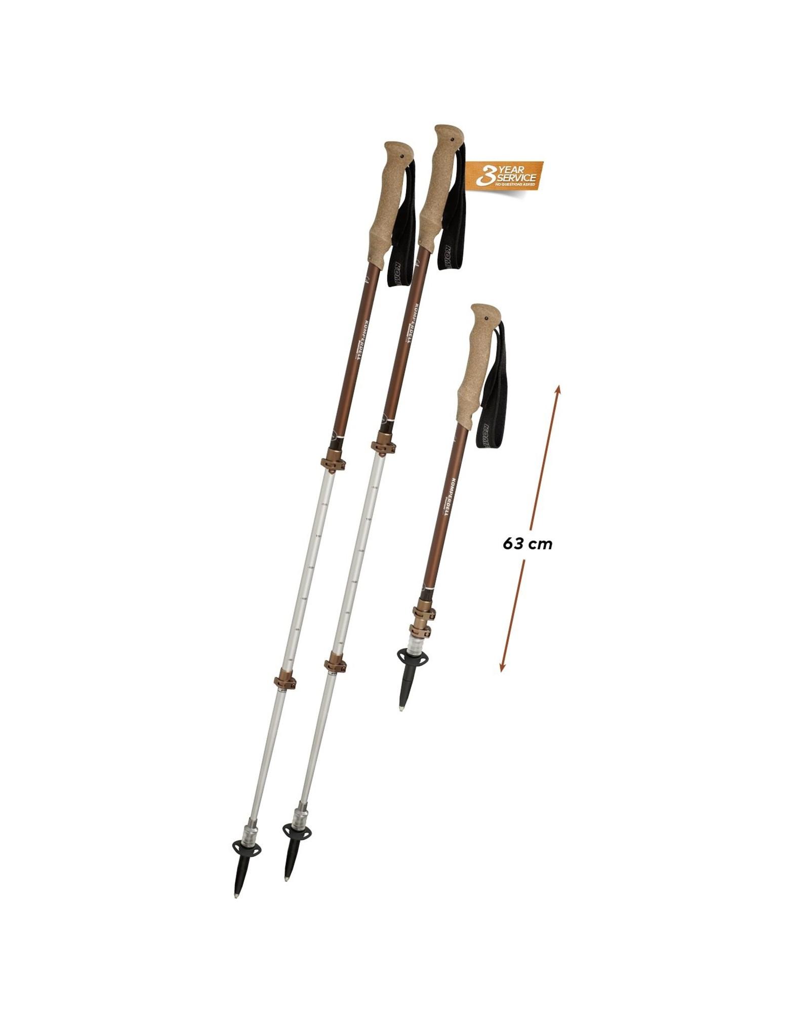 Komperdell Komperdell Shockmaster Cork Compact Trekking Poles