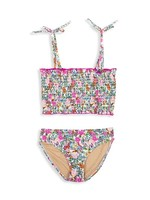 Shade Critters Floral Smocked Bikini