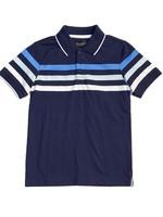Blue Stripe Polo Shirt