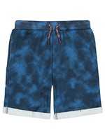 Navy Tie Dye French Terry Shorts