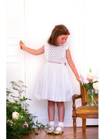 Antoinette Paris Antoinette Paris Cherry White Dress