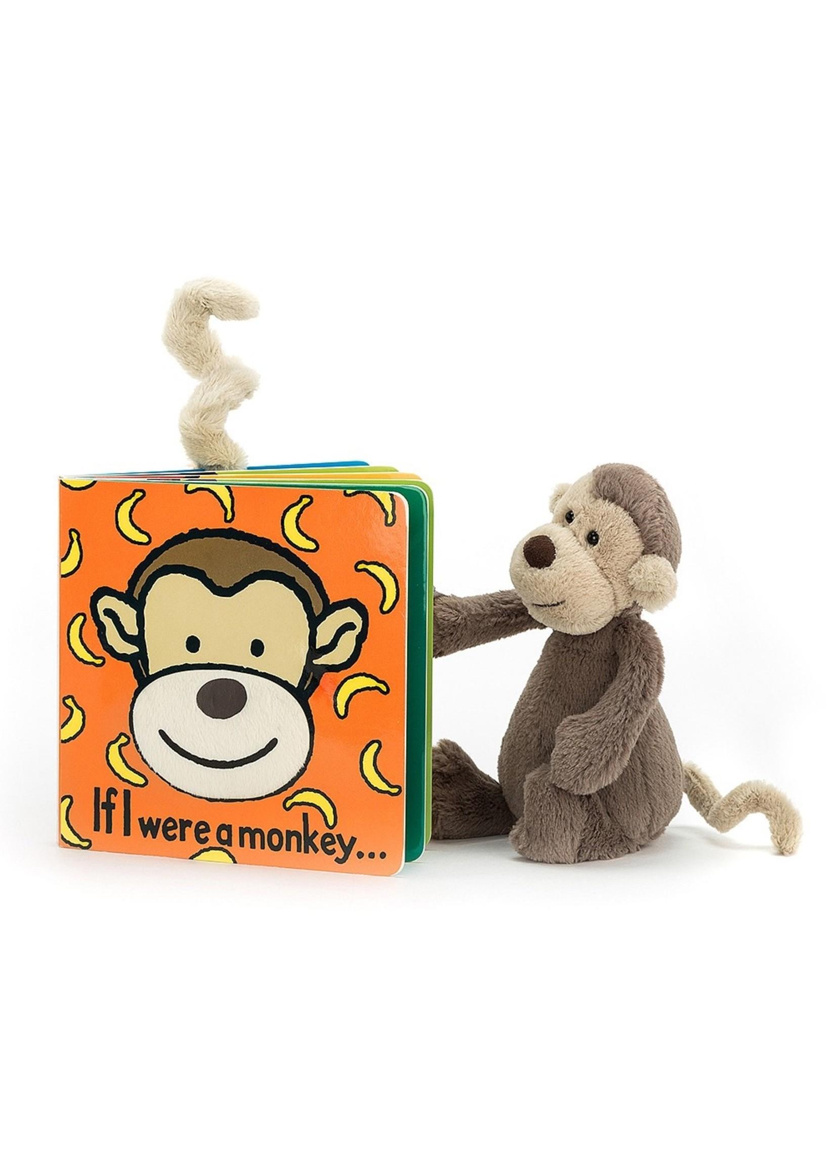 "Jellycat Jellycat ""If I Were a Monkey"" Book"
