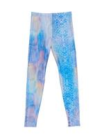 Terez Terez Blue Pastel Python Legging