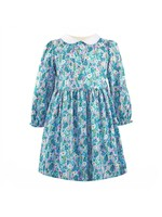 Rachel Riley Rachel Riley Blue Botanical Dress