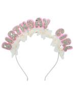 Tulle Birthday Girl Headband