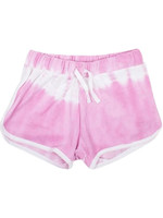 Shade Critters Pink Tie Dye Terry Shorts
