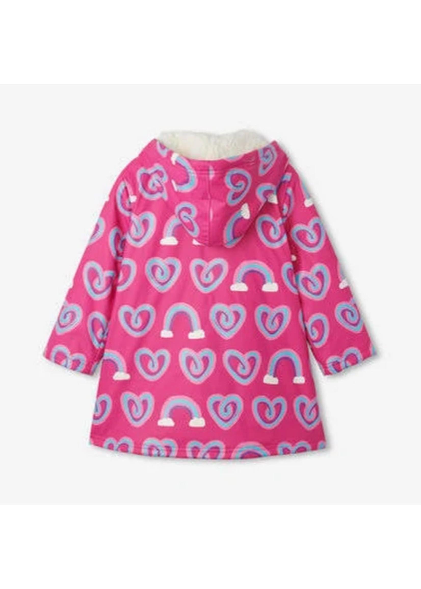 Hatley Hatley Twisty Heart Rain Jacket