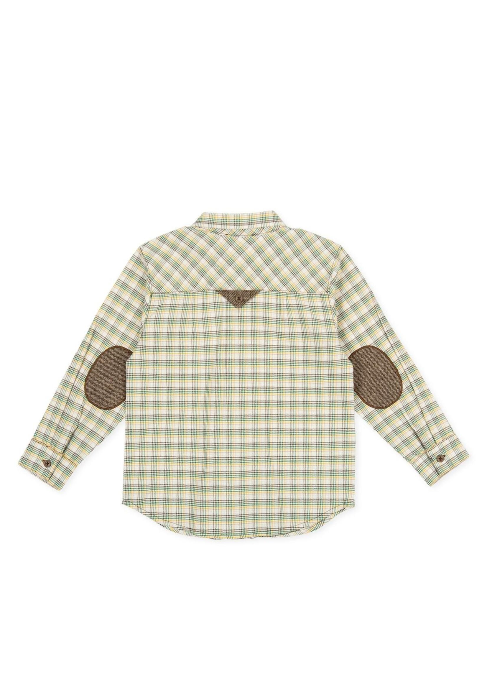 Tutto Piccolo Tutto Piccolo Plaid Dress Shirt
