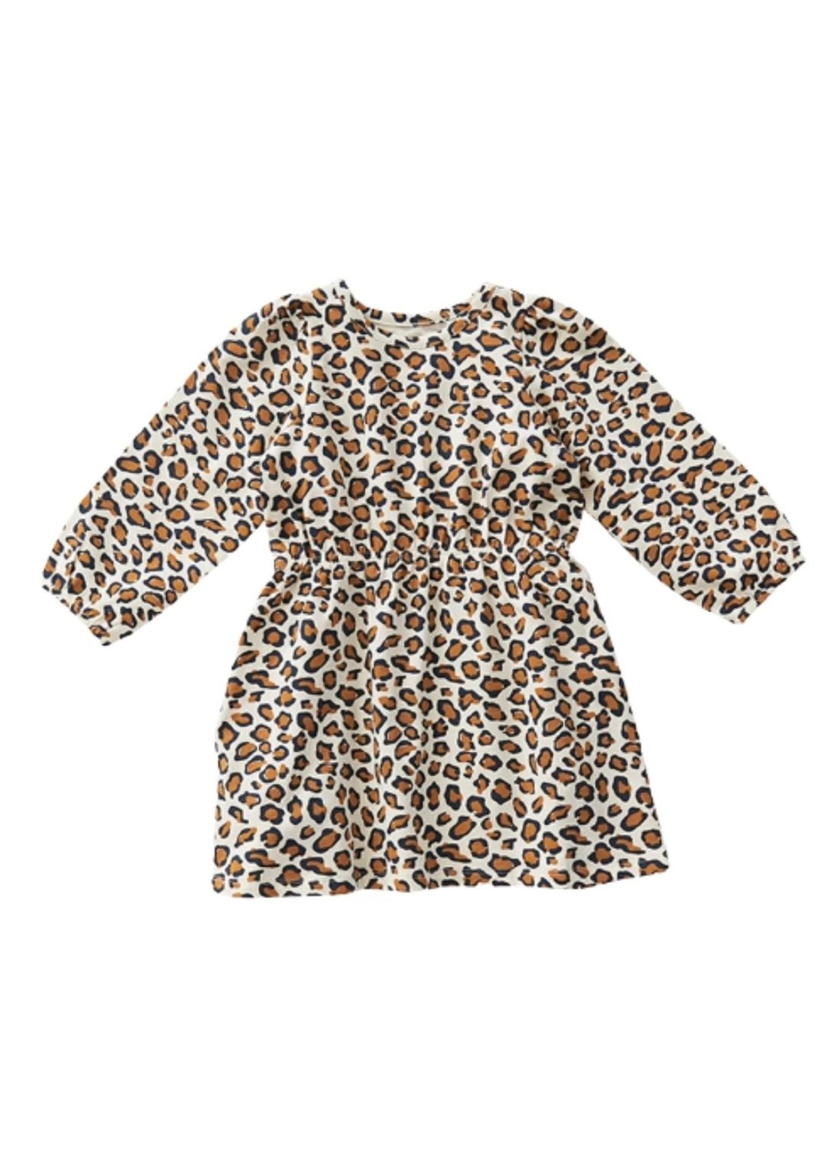 Pink Chicken Pink Chicken Organic Leopard Hadley Dress