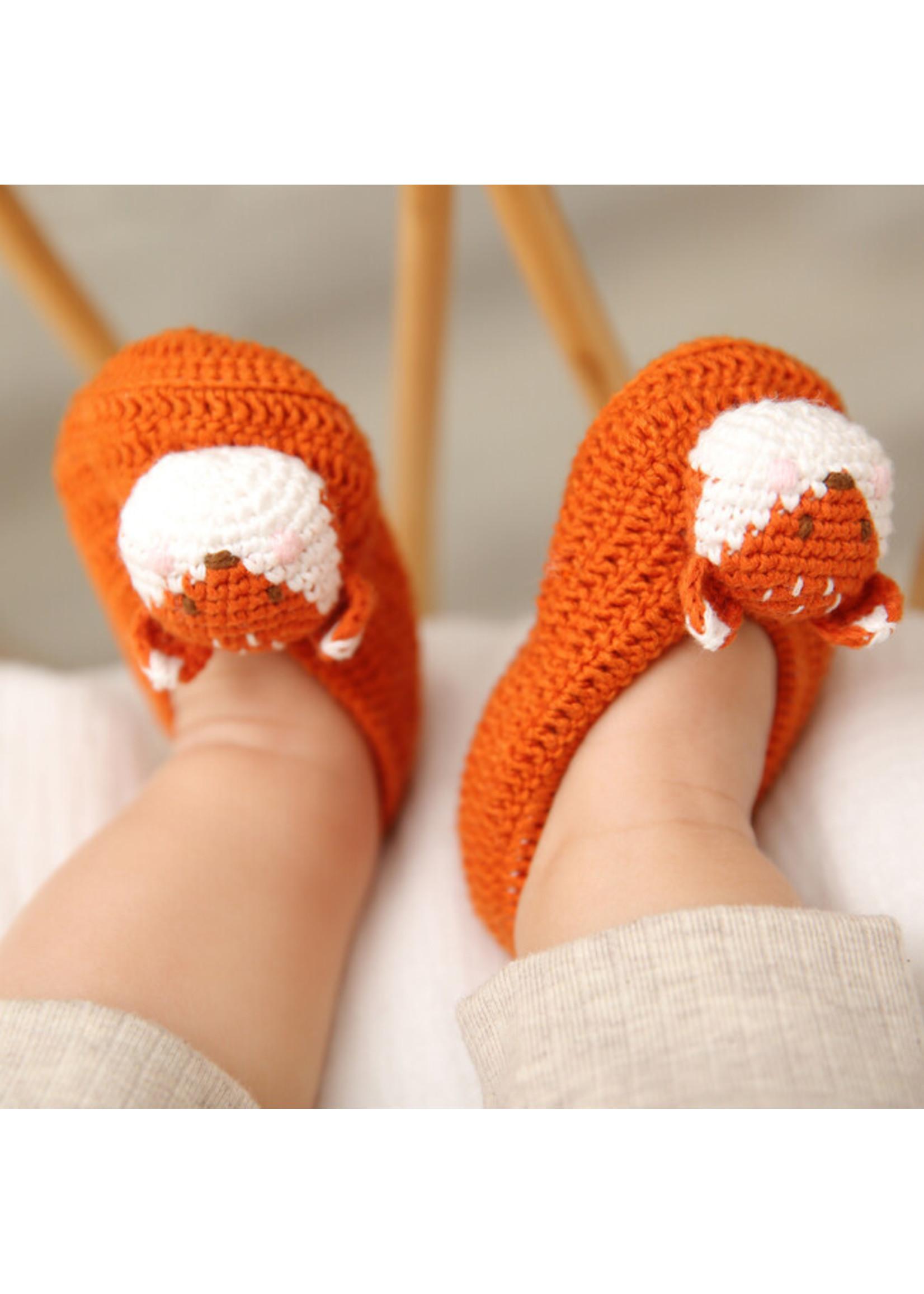 Albetta Albetta Fox Crochet Bootie