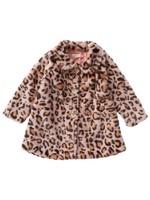 Pink Chicken Pink Chicken Kate Leopard Coat
