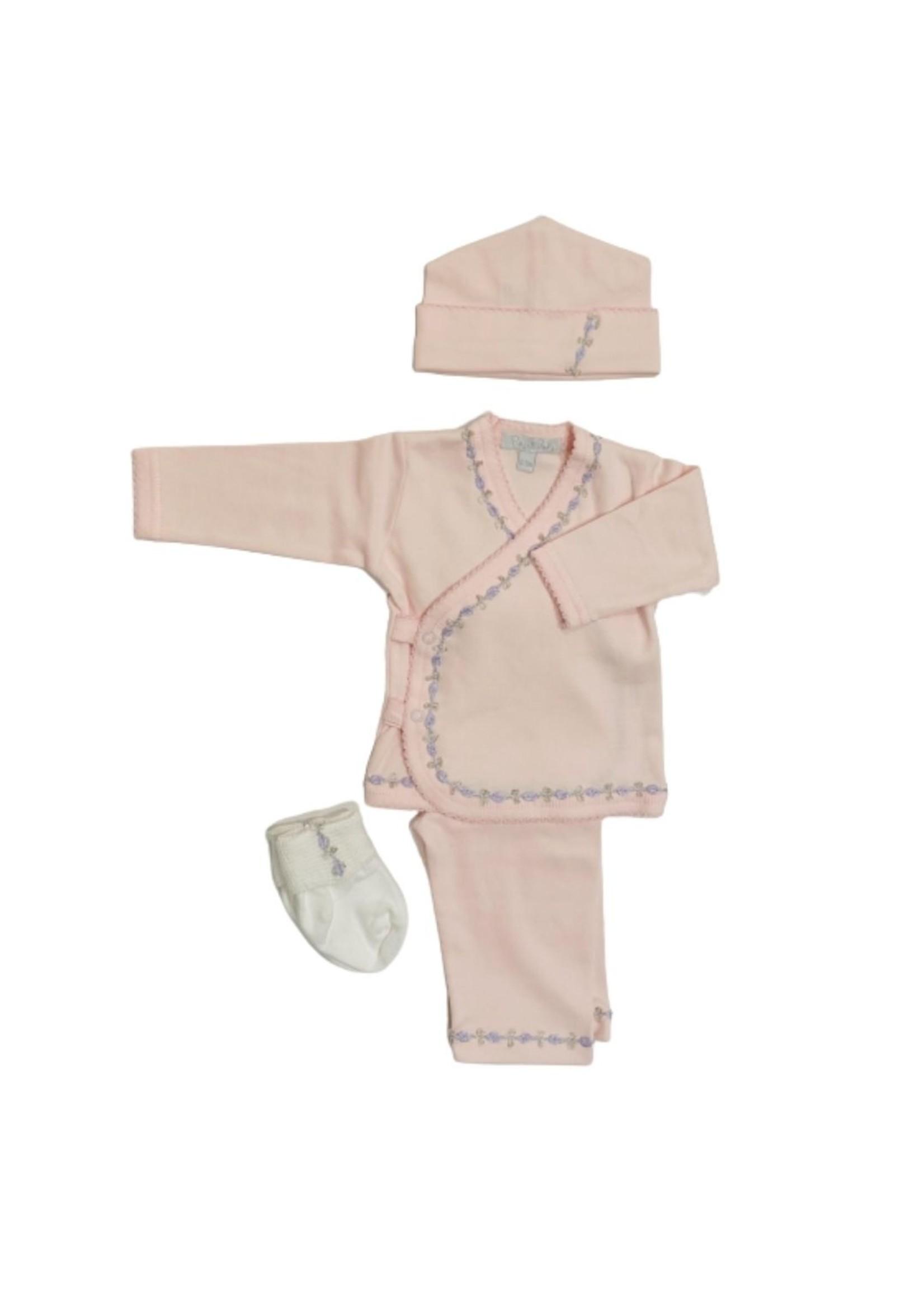 Royal Baby Royal Baby Pale Pink/Lavender Vine Take Me Home Set