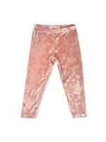 Oh Baby! Oh Baby! Pink Velvet Legging