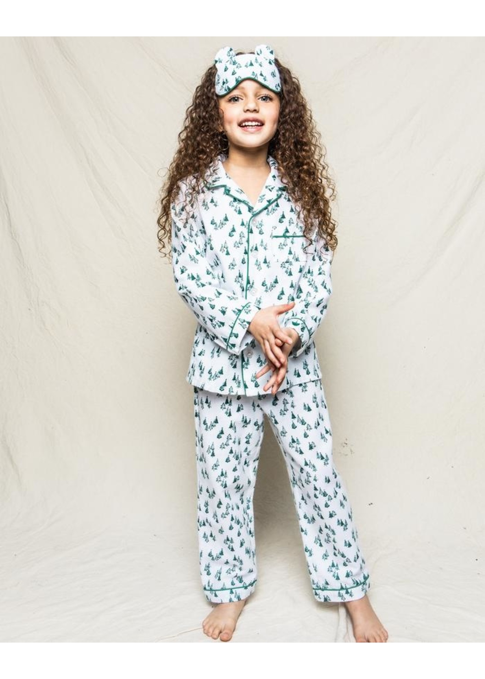 Petite Plume Evergreen Forest Pajama
