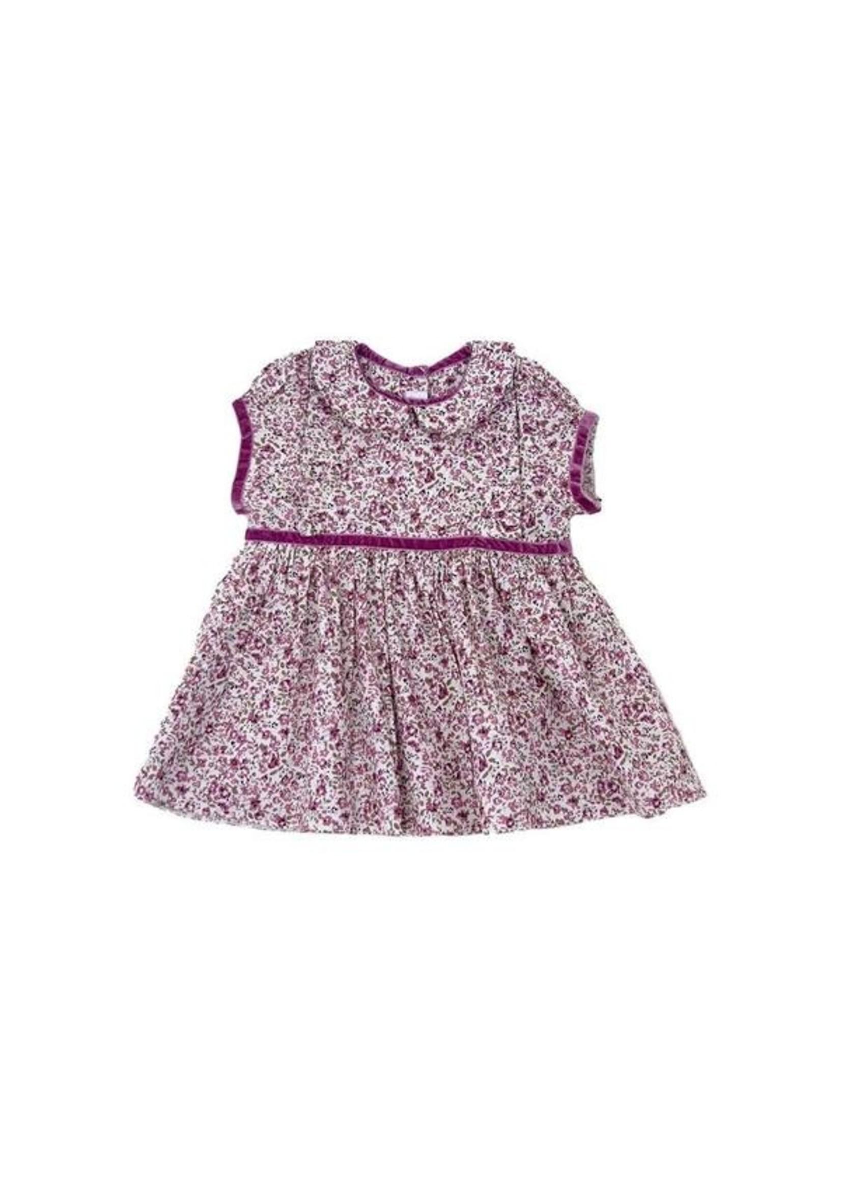 Cuclie Cuclie Dusty Rose Freesia Dress