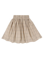 Lilly + Sid Woven Check Skirt