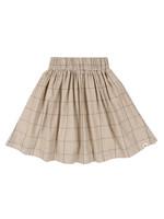 Woven Check Skirt