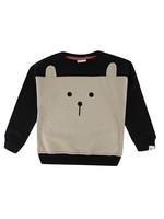Color Block Animal Sweatshirt