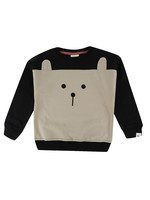 Lilly + Sid Color Block Animal Sweatshirt
