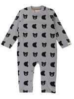 Lilly + Sid Little Cub Grey Playsuit