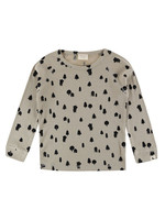 Lilly + Sid Forest Bear Long Sleeve Top