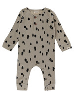 Lilly + Sid Forest Bear Playsuit