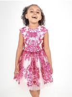 Halabaloo Halabaloo Pink Sequin Dress
