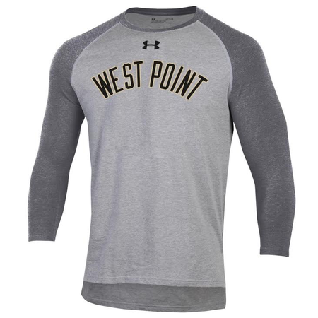 Under Armour West Point Men's Charged Cotton Baseball Tee