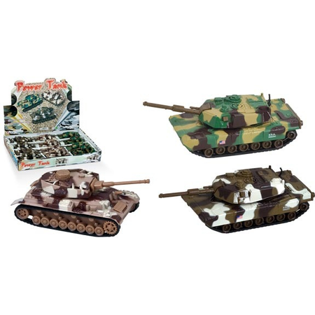 Power Tank Pullback Toy