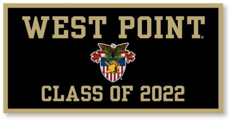 West Point Class of 2022 Banner (West Point Crest, 18x 36 inches)