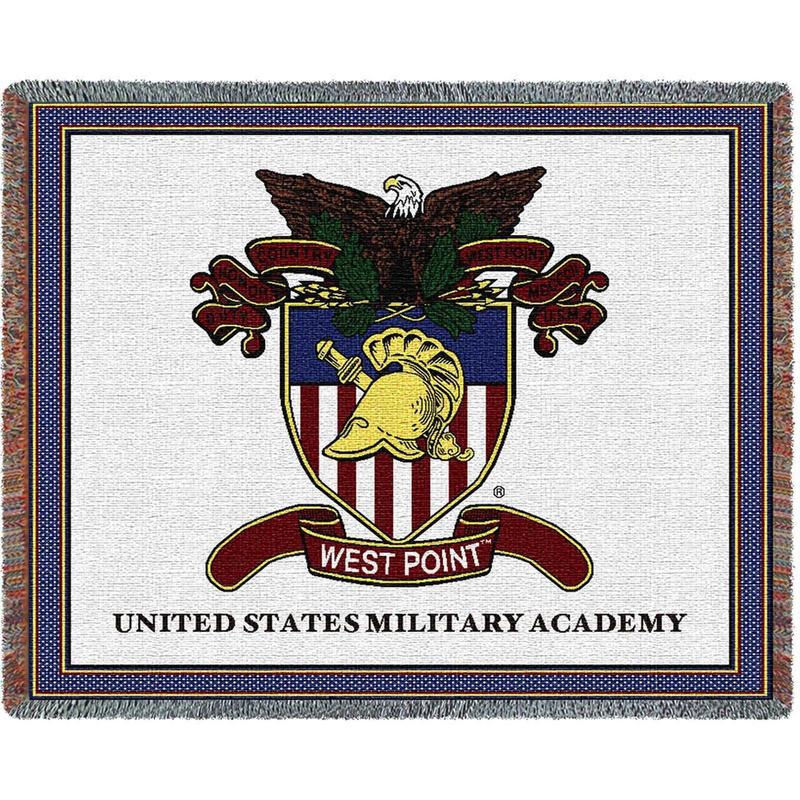 West Point Crest Throw
