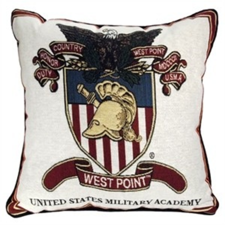 "West Point Crest Pillow (17 "" by 17"")"