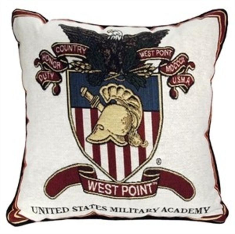 West Point Crest Pillow