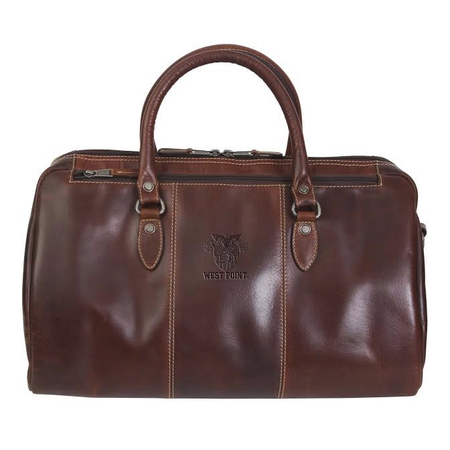 West Point Leather Duffel Bag