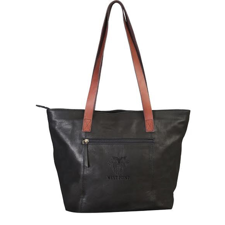 Harper Canyon Leather Tote (West Point) Special Order