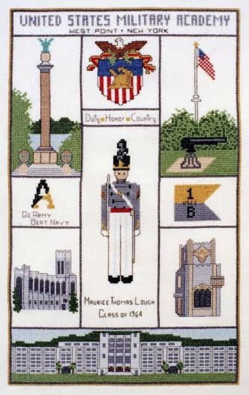 West Point Sampler Cross Stitch Kit